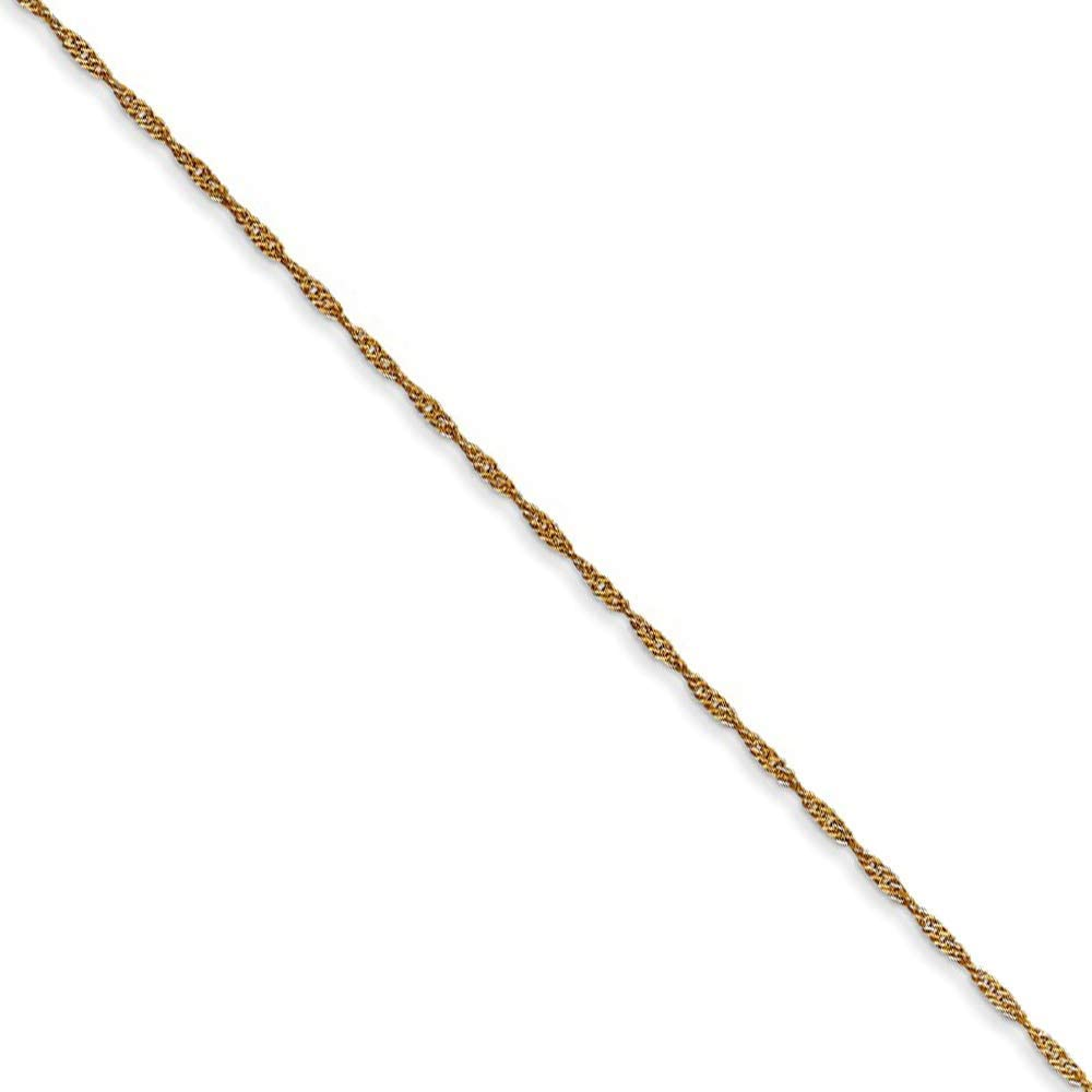 Black Bow Jewelry 1mm 14k...