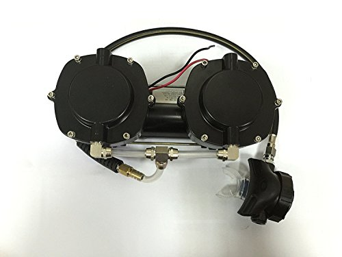 iorman Original portátil 12 V 160 W diafragma buceo Compresor pipa de buceo bomba de vacío para snorkeling: Amazon.es: Bricolaje y herramientas