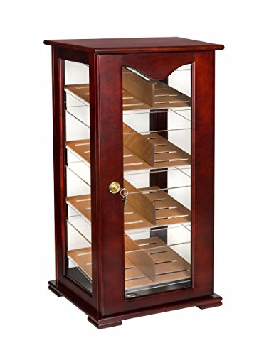 Orleans Group Counter Top Display Cherry Humidor, 200 (Commercial Cigar Humidors)