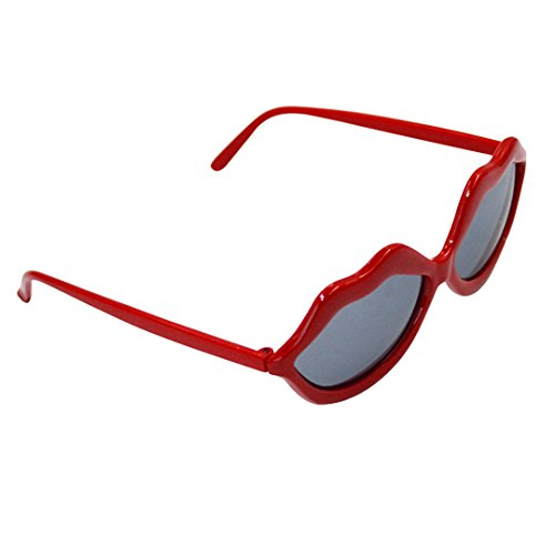 Kennedy Party Ball Props Red Lip Glasses, Non-mainstream Glasses, Photography Decoration - Photography Eyewear