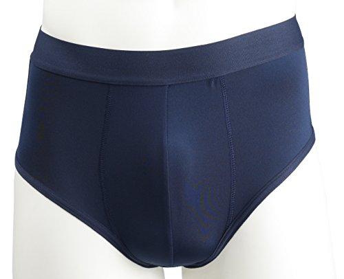 Somenell Men's Padded Butt Enhancer Hip Booster Brief Underwear Navy (95 / 31