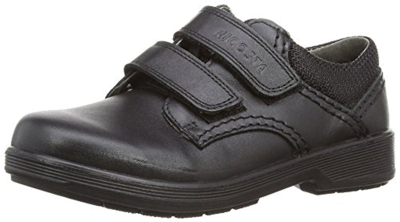 Ricosta William Wide Fit, Boys' Loafers, Black (Schwarz 090), 1 UK (33 EU)