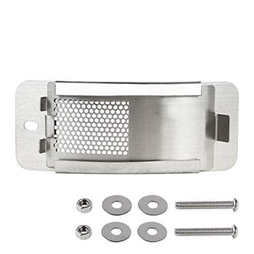 KAMaster Stainless Steel Draft Door Kit Fit for Small&Mini Big Green Egg ()