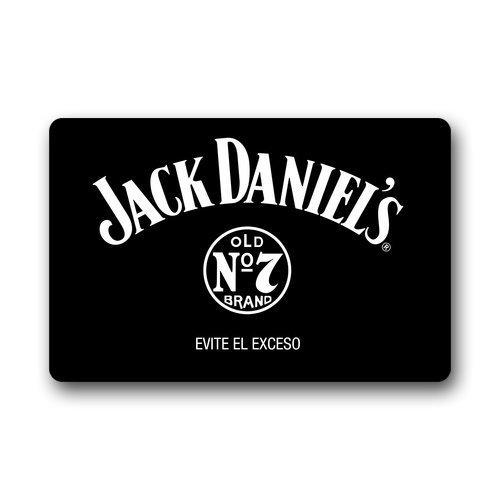 cover-case-dh SENL puerta signo Jack Daniels personalizar su propio personalizado Felpudo para