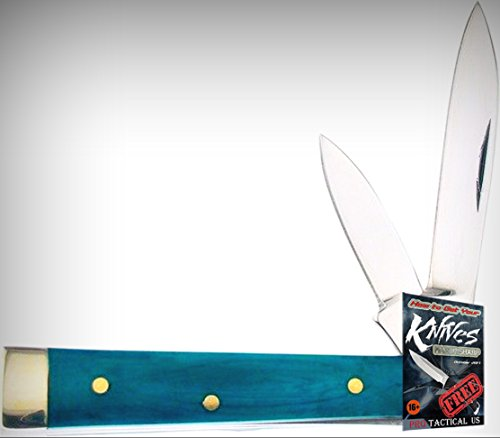 Frost 14-974GSB Baby Doc Mirror Finish Folding Limited Elite Knife W/2 Blades Folder + free eBook by ProTactical'US