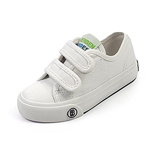 Sakuracan Fashion Sneaker for Boys Girls Canvas Velcro Running Sport Shoes (Toddler/Little Kid) by Sakuracan (Image #1)