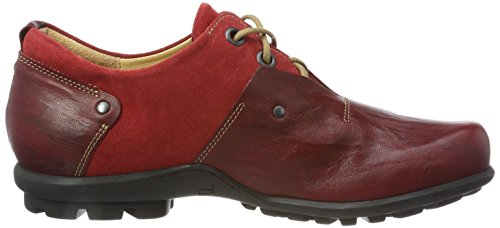 Think Kong_888651, Scarpe Stringate Derby Uomo Rosso (Rosso/Kombi 72)