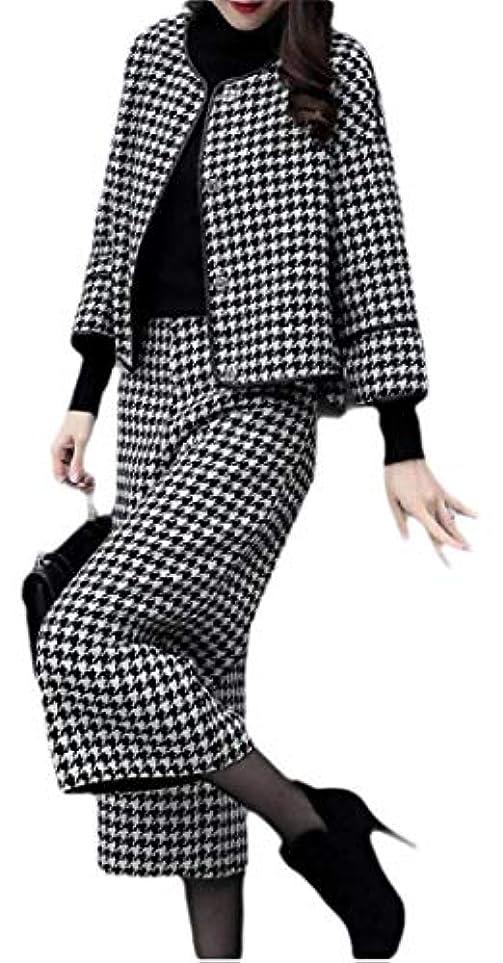 繁雑全部合体Fly Year-JP 女性セクシー2ピース衣装長ズボンスーツセット付き長袖ブレザージャケット