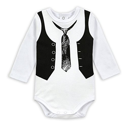 Tralntion Rompers Baby Bodysuit Rompers Jumpsuit Snapsuit Long Sleeves for Newborn Boy