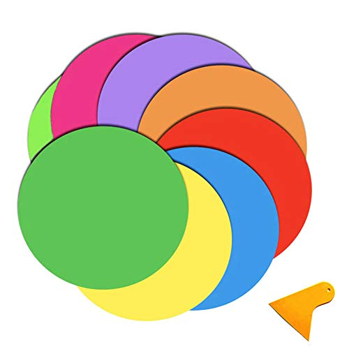 Dry Erase Dots - Senbos 8PCS Dry Erase Dots Circles