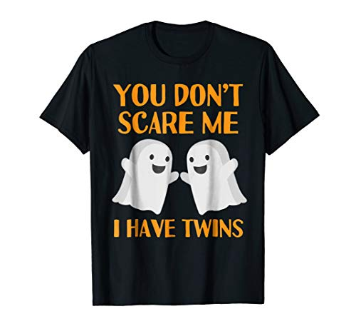 Funny Mom Dad Parents of Twins Halloween -