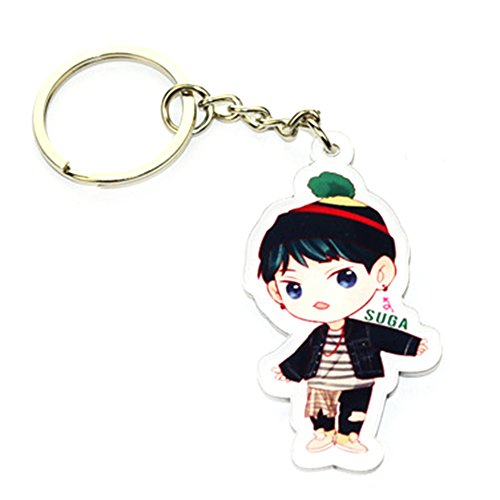Suiez Kpop BTS Bangtan Boys Key Chains (A1)