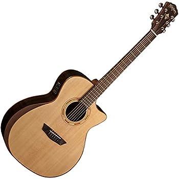 washburn comfort series wcg55ce acoustic guitar natural musical instruments. Black Bedroom Furniture Sets. Home Design Ideas