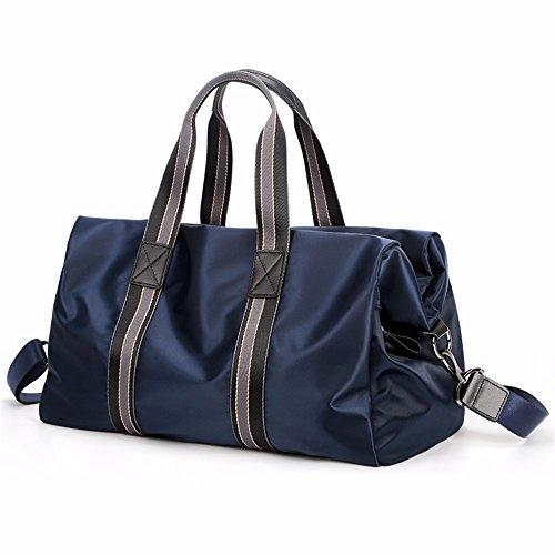 gran los Blue hombres de de bolsos capacidad Big Ocio bolsos bolsas trompeta Negro wI56q6