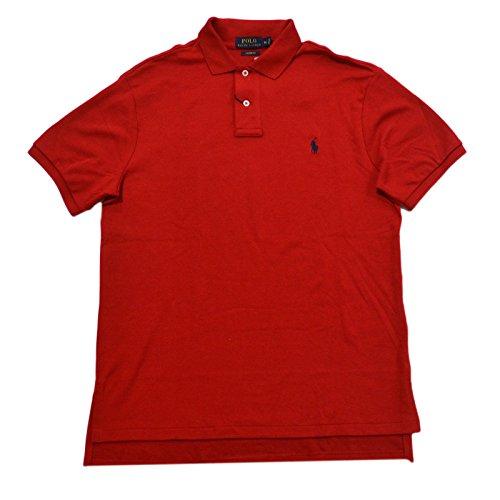 Polo Ralph Lauren Mens Custom Fit Interlock Polo Shirt (Medium, RL 2000 - Customer Lauren Ralph Service Polo