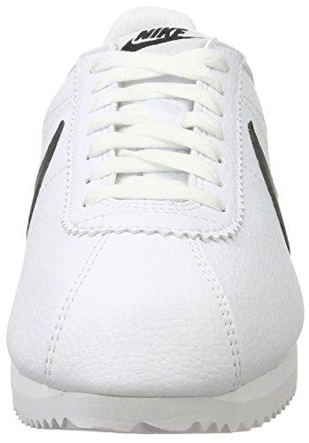 Nike Hommes Cortez blanc 154 Cuir Chaussures Blanc 749571 Classic Noir FFgwrRxqd