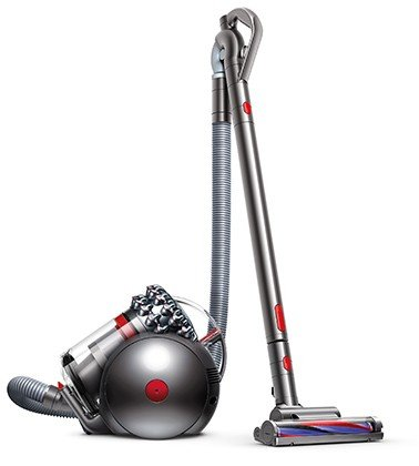 Dyson Cinetic Big Ball Absolute Cylinder 1.6L 1200W E Nickel - vacuum cleaners (Cylinder, E, Dry, Home, Carpet, Hard floor, A)
