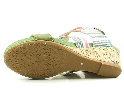 40 1 Benoit 27 EU;Farbe Laura 27 Vita Schuhgröße Mode Vert Sandales SL140356 Femme wqBzSxBvt