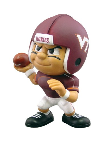 Ncaa Figurine (Lil' Teammates Virgina Tech Hokies Quarterback NCAA Figurines)