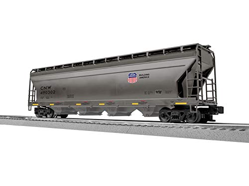 - Lionel 3-17160 Chicago & NW (UP) ACF 4 Bay Covered Hopper (6 Pack)