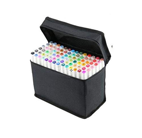 /… Touch Five Pens/&Markers 80 Colors Touch Art Sketch Twin Marker Pens Broad Fine Point General Design