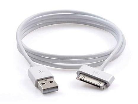 USB de Carga Cable de sincronización para iPhone 4, 4S, 3 G, 3, iPad 3 iPad 2USB Cargador de Plomo Cable USB Cargador Cable de sincronización para ...