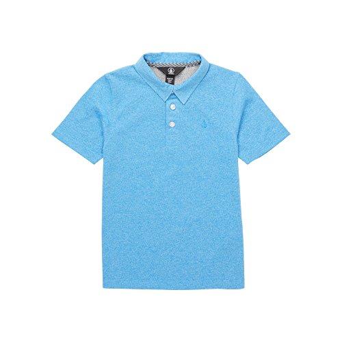 (Volcom Little Boys Wowzer Modern Fit Cotton Polo, Free Blue, 5)