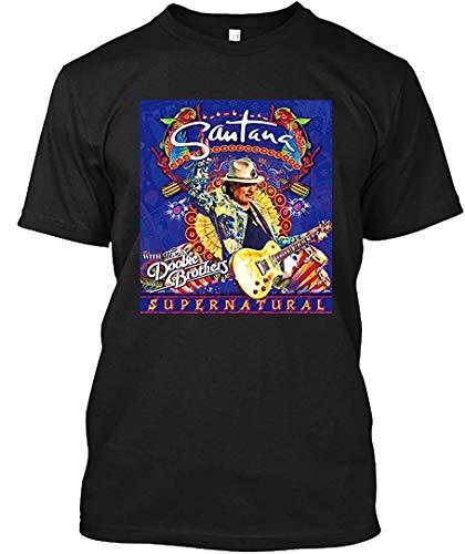 Carlos Supernatural Santana Tour 2019 anteve T-Shirt|Gildan Short-Sleeve - Black Tour Tee