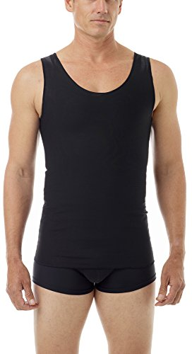 Cotton Lined Power Chest Binder Tank Black X-Large