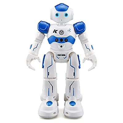 RC Robot,REALACC USB Charging Dancing Gesture Control Robot Toy
