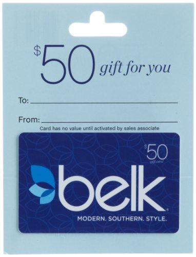 Belk Gift Card $50 (Pay With Amazon Gift Card)
