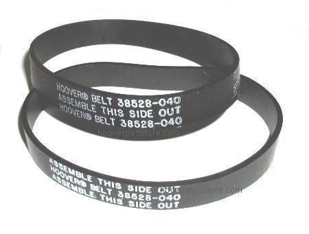 Hoover 38528-040 , 38528-027 Upright Agitator Vacuum Belts -