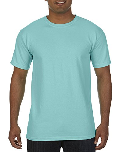 Comfort Colors Garment-Dyed Short Sleeve T-Shirt. C9030 Chalky Mint L - Dyed Cotton Short Sleeve Tee