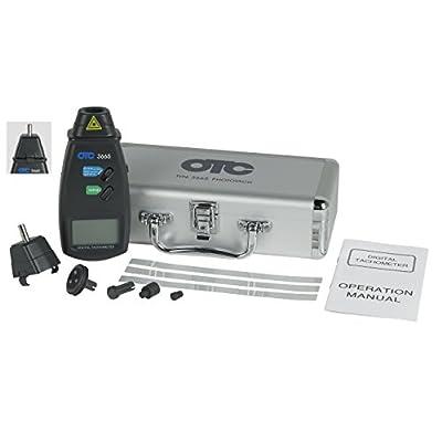 OTC 3665 Phototach Contact/Non-Contact Tachometer: Automotive