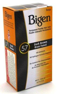 Price comparison product image Bigen Powder Hair Color #57 Dark Brown 0.21oz (2 Pack)