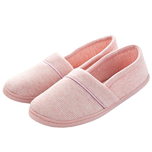 Women Cotton Home Slipper Comfortable Soft Sole Indoor Anti-Slip House Shoes by handrong