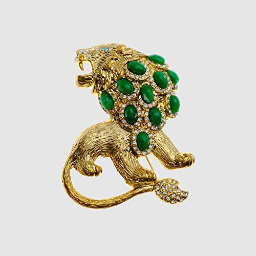 Design Lion Brooches