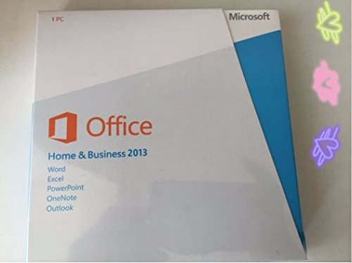 "Microsoft Office Home And Business 2013 BOX Pack 1 PC 32/64-BIT, Medialess WIN English ""PRODUCT CATEGORY: SOFTWARE/BUSINESS SUITE"""