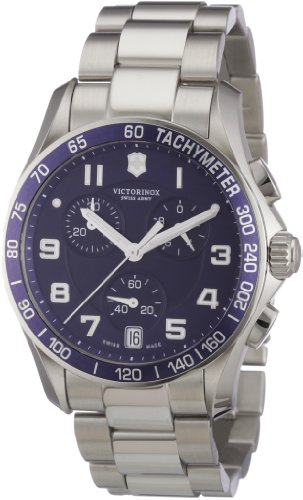 Victorinox Swiss Army Men's 241497 Chrono Classic Blue Chronograph Dial - Dial Blue Watch Army Swiss