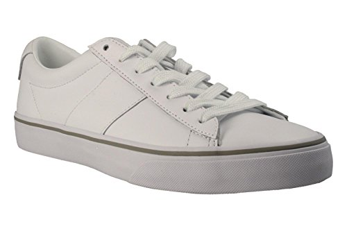 Polo Ralph Lauren Sayer Homme Baskets Mode Blanc