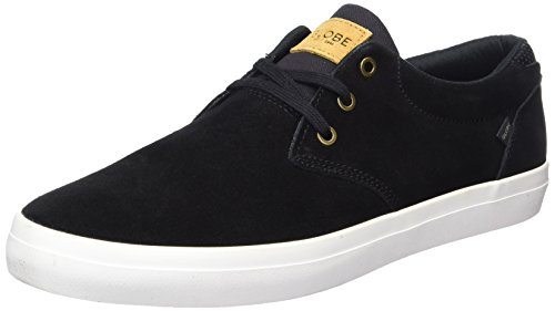 Globe Herren Willow Sneaker Schwarz (Black/White)