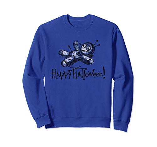 Voodoo Doll Sweatshirt Halloween Outfit for Women, -