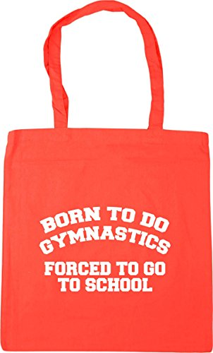 Born gymnastics go to to Tote forced school Coral x38cm to Bag 10 Beach Shopping kids do Gym litres 42cm HippoWarehouse AxdqSww