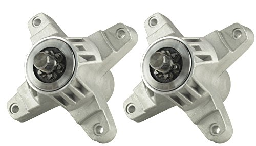 Two (2) Pack Erie Tools Spindle Assembly Fits MTD 618-0142 918-0138 918-0138A 918-0138C 918-0142 by Erie Outdoor Power Equipment