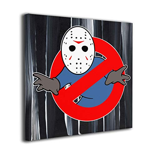 Cheny Ghostbusters Jason Voorhees Canvas Wall Art Prints-Photo Modern Paintings Decorative Giclee Artwork Wall Decor-Wood Frame Gallery Wrapped]()