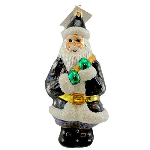 Christopher Radko OXFORD SANTA Blown Glass Ornament Christmas by Christopher Radko