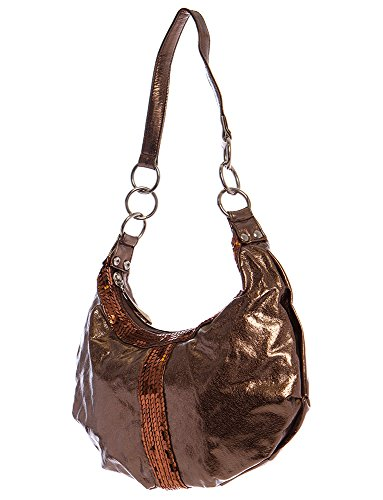 All by Sequin Bag Brown Hobo Handbags for nqWXg4A