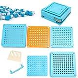 SLB Works Brand New Pro 100 Holes Capsule Filler Capsule Filling Manual Machine Flate Encapsule tray