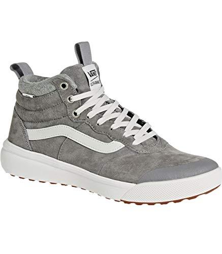 Vans UltraRange Hi MTE Wool Frost Gray Men's Classic Skate Shoes (9)