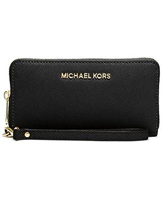 MICHAEL Michael Kors Saffiano Jet Set Travel Flat Multifunction Wallet